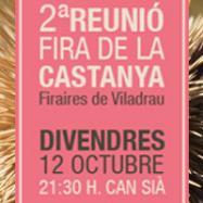 Viladrau Segona reunió Fira de la Castanya 2018