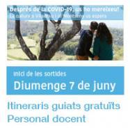 Viladrau Itineraris guiats gratuïts al personal docent