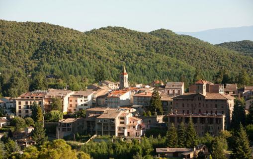 El poble de Viladrau
