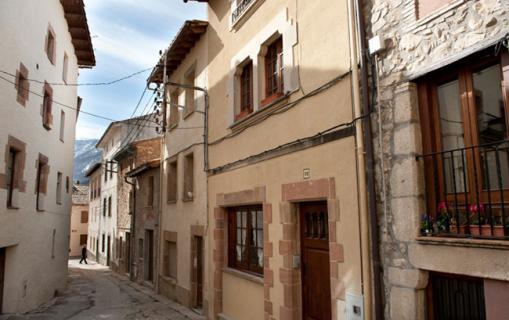 Els carrers Viladrau
