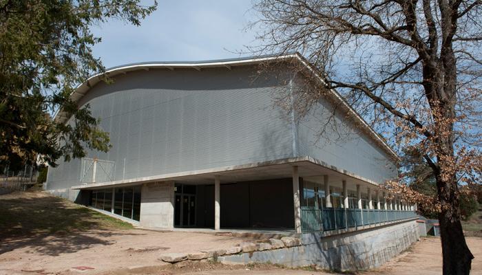 Exterior Pavelló Muncipal, Viladrau