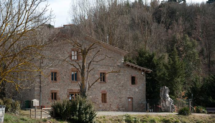 """Façana del Torrent """"Punt Jove"""", Viladrau"""