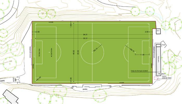 Camp de Futbol Municipal de Viladrau