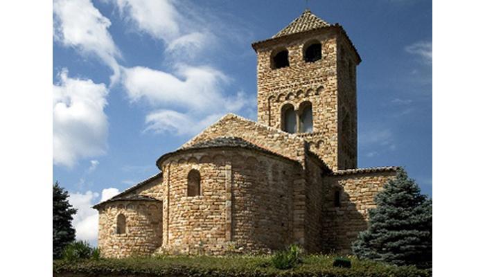 Itineraris i rutes. Esglesia de Sant Vicenç. Viladrau-Espinelves.