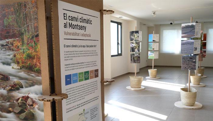 """Viladrau Exposició """"El canvi climàtic al Montseny: vulnerabilitat i adaptació"""""""