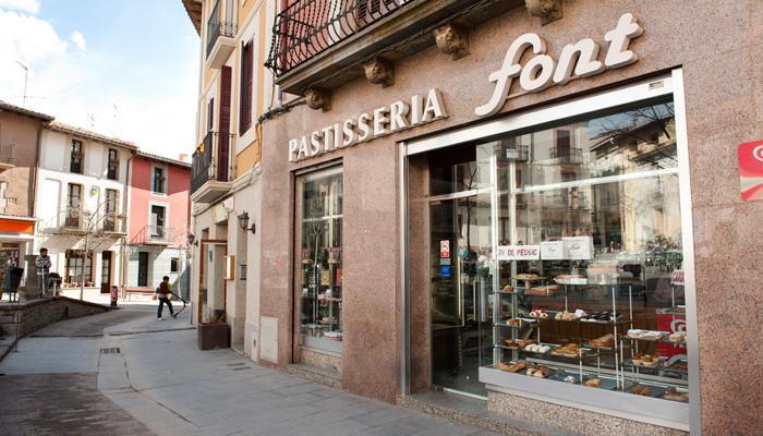 Viladrau, Pastisseria Font