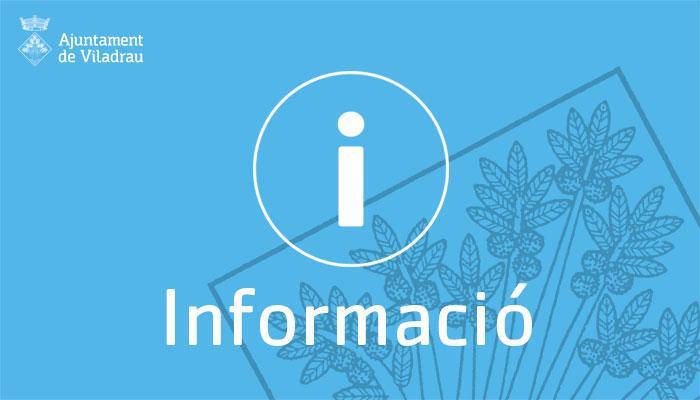 Informació Ajuntament de Viladrau