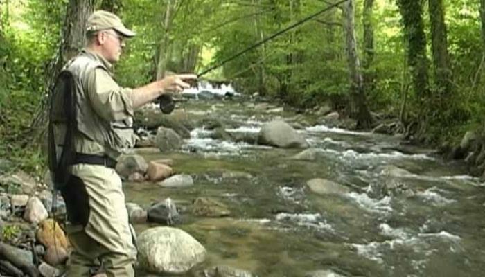 Pescador a la Riera Major