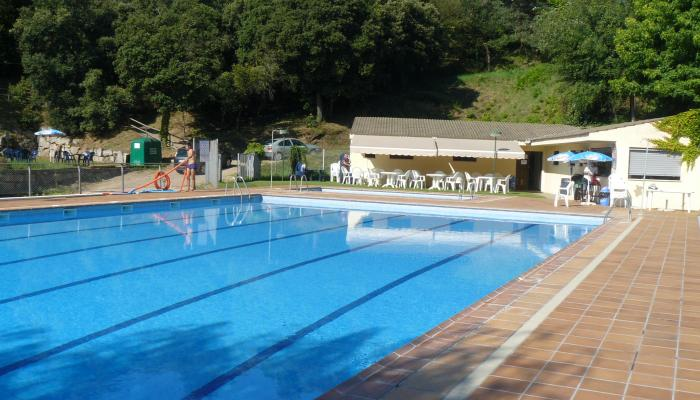 Piscina municipal de Viladrau
