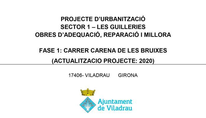 Viladrau - Projecte d