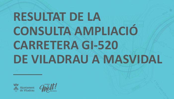 Resultat de la consulta ampliació carretera GI520 de Viladrau a Masvidal