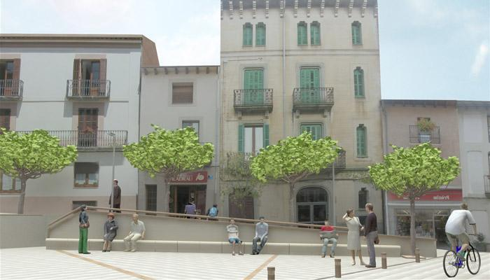 Projecte de la Plaça Major, Viladrau