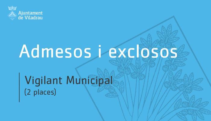 Ajuntament de Viladrau - Llista provisional d
