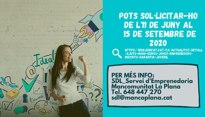 Viladrau Ajuts per persones joves emprenedores