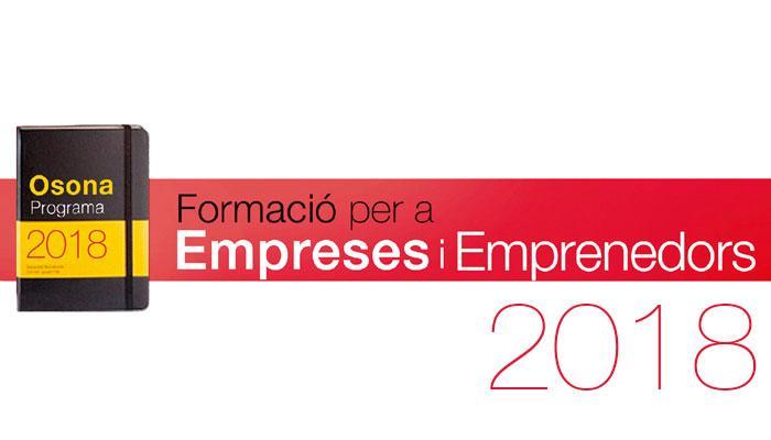 Viladrau Formació per a empreses i emprenedors 2018
