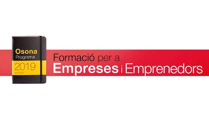 Viladrau Programa comarcal de formació per a empreses i emprenedors 2019