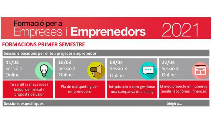 Viladrau Formació per empreses i projectes emprenadors 2021