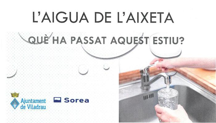 Viladrau Gust Aigua Aixeta