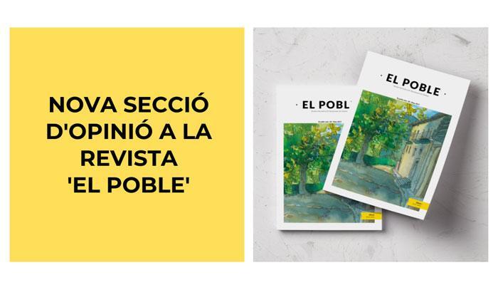 """Viladrau Nova secció a la revista """"El Poble"""""""