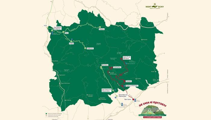 Viladrau El Parc Natural i Reserva de la Biosfera del Montseny més accessible amb transport públic
