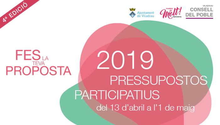 Viladrau Pressupostos Participatius 2019