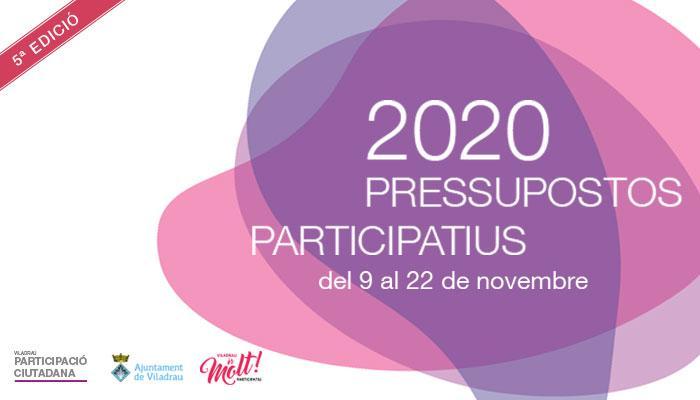 Viladrau Pressupostos participatius 2020