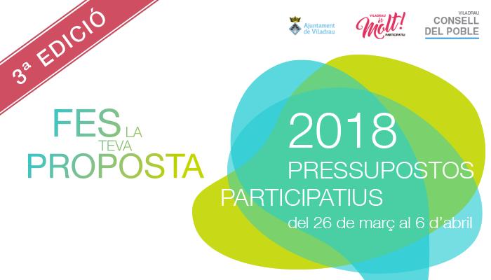 Viladrau Pressupostos Participatius 2018