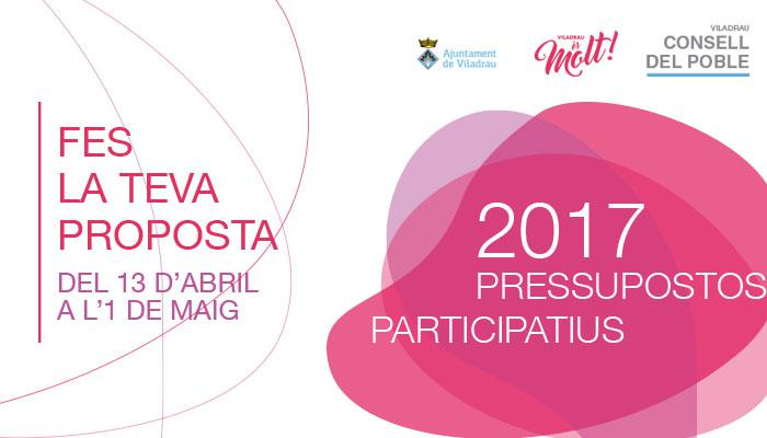 Viladrau_Pressupostos Participatius 2017