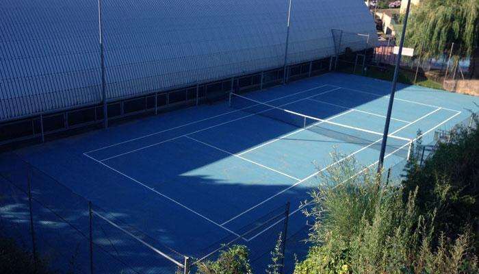 Viladrau pista tenis