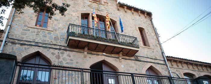 Façana Ajuntament de Viladrau