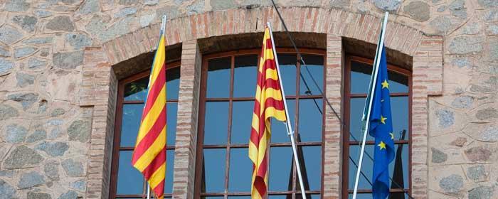 Façana Ajuntament Viladrau