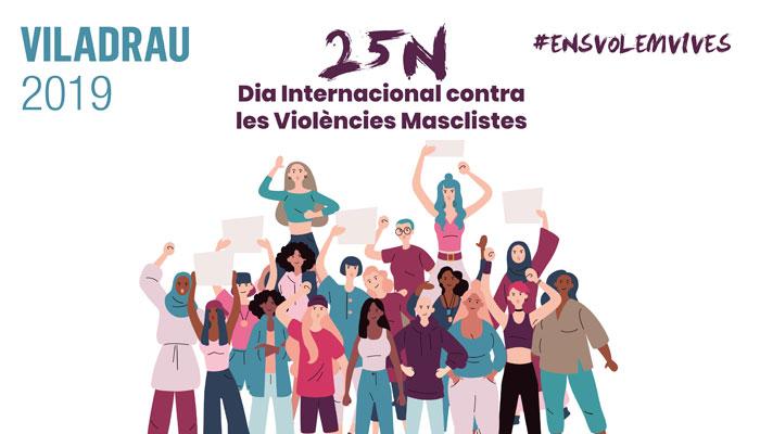 Viladrau Dia Internacional Contra les Violències Masclistes 2019
