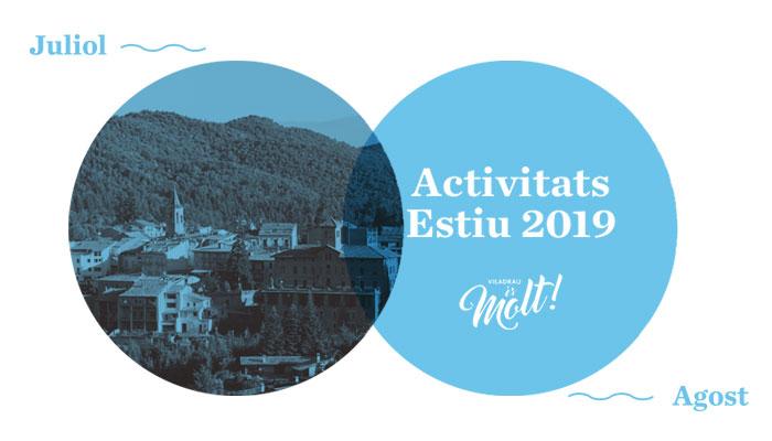 Activitats d'Estiu a Viladrau 2019