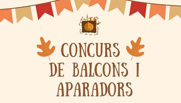 Concurs de balcons i aparadors