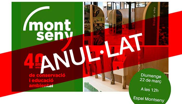 """Viladrau ANUL·LAT""""40 anys de conservació i educació ambiental al Montseny"""""""