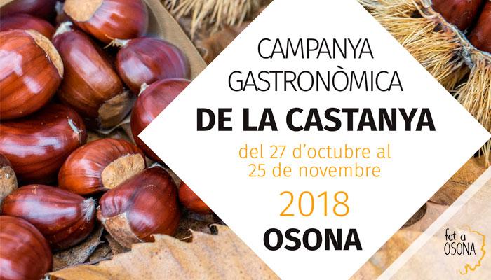 Viladrau Campanya Gastronòmica de la Castanya 2018