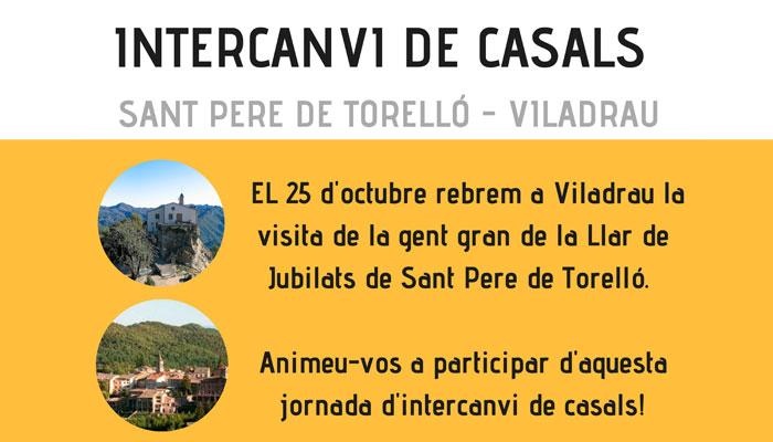 Intercanvi Casals Sant Pere de Torelló - Viladrau