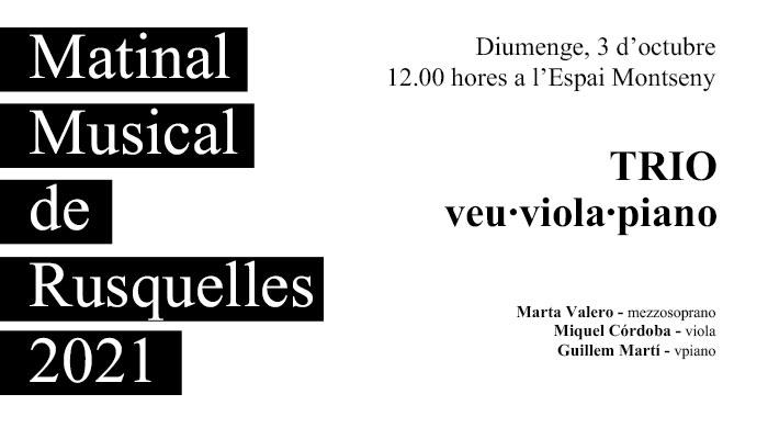 Viladrau Matinal Musical de Rusquelles del 3 d'octubre de 2021
