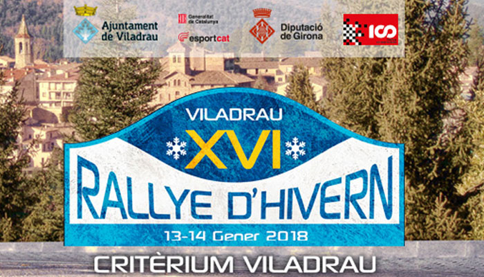 XVI Rallye d'Hivern-Criterium Viladrau 2018