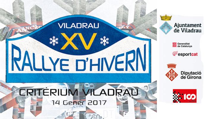 XV Rallye d'Hivern-Criterium Viladrau