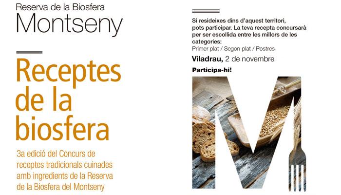 Viladrau 3er Concurs de receptes de la Reserva de la Biosfera del Montseny