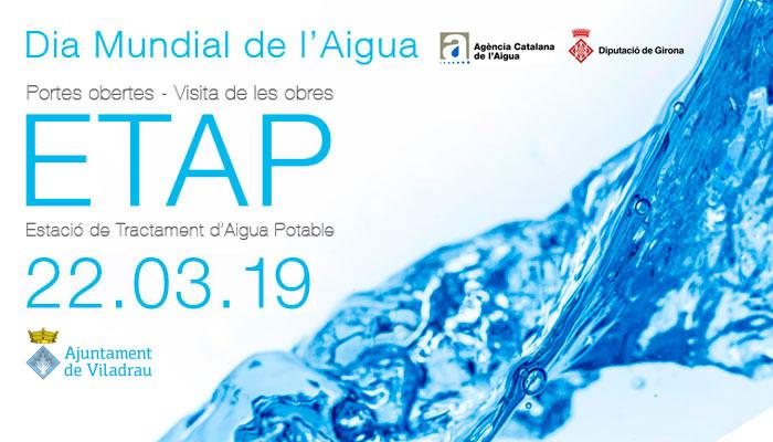 Viladrau Visita de les obres ETAP