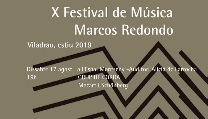 Viladrau X Festival Marcos Redondo