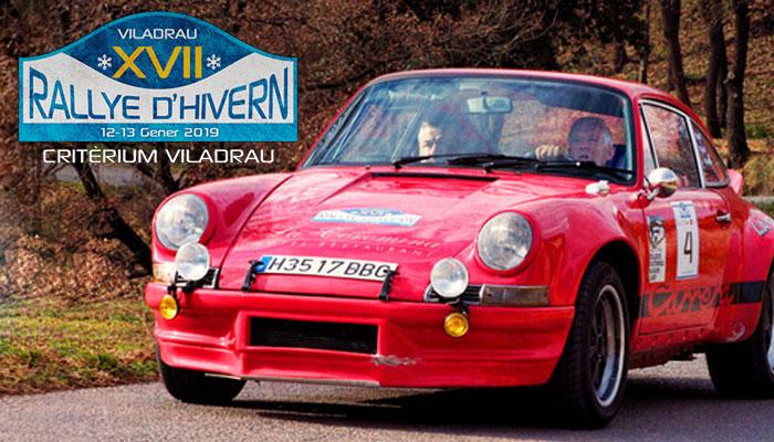 XVII Rallye d'Hivern-Criterium Viladrau 2019